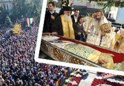 VIDEO - Pelerinajul la moaştele Sf Parascheva din Iaşi, decizie istorică