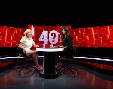 """Elena Udrea, dezvăluiri în premieră aseară, în cadrul emisiunii """"40 de întrebări cu..."""