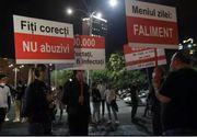 """""""Meniul zilei: șomaj!"""". Protest în fața Guvernului al angajaților din restaurante și cafenele"""