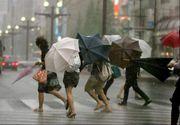 Alertă meteo! Cod portocaliu şi galben de ploi abundente. Judeţele afectate