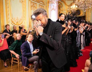 VIDEO - Săptămâna modei la Paris. Botezatu a impresionat