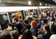 Haos la metroul din Capitală, marți dimineața