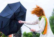 Cod portocaliu de vreme rea. ANM a actualizat prognoza meteo și pentru București