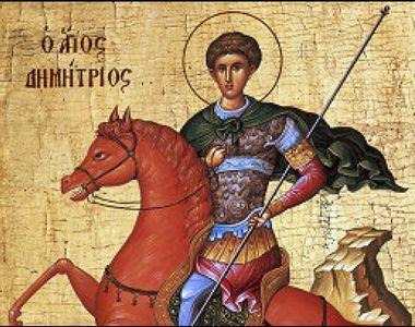 Sfântul Dumitru 2020: Sărbătoare mare astăzi în calendarul ortodox! Ce trebuie să faci?