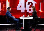 """Gică Popescu vine la """"40 de întrebări cu Denise Rifai""""! Marți, la ora 23:00, la Kanal D, simbolul național al sportului românesc clarifică aspecte din viața personală și profesională"""