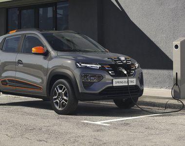 VIDEO - Dacia electrică, lansată la Paris. Este un SUV de patru locuri