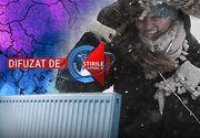 VIDEO - Vine vortexul polar. Românii n-au căldură în case