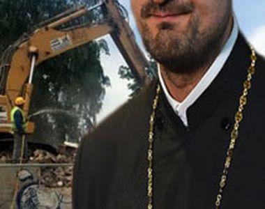 VIDEO| Biserică demolată după ce a fost construită ilegal