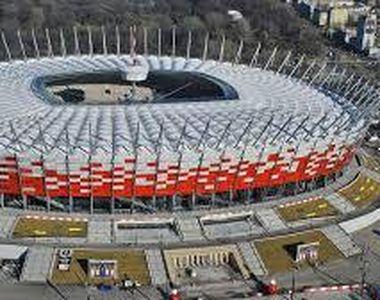 Stadionul Naţional din Varşovia va fi transformat în spital destinat pacienților...
