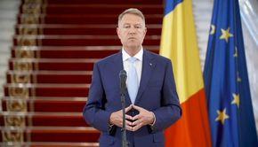 Președintele Klaus Iohannis va susţine o conferinţă de presă la Palatul Cotroceni