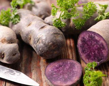 VIDEO - Cartoful mov, sănătate curată. Specialist: Consumați mai des!