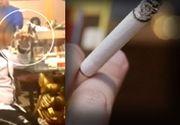 VIDEO - Copil de milionar, filmat când fumează și bea