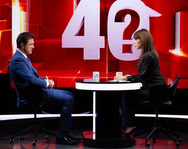 """Gică Popescu a făcut dezvăluiri tulburătoare, în cadrul emisiunii """"40 de întrebări cu..."""