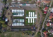 În Timișoara, corturile din spitalul de campanie se vor înlocui cu containere, unde vor fi create încă 120 de locuri pentru pacienții afectați de COVID-19