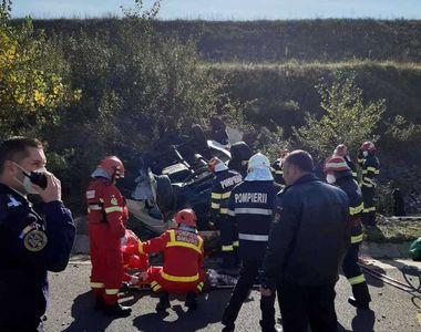 Județul Alba: Accident grav pe Autostrada Sibiu-Orăștie. 13 persoane au fost rănite și...