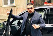 Tzancă Uraganu s-a făcut de râs în fața tuturor! I s-a cojit volanul de la limuzina de 200.000 de euro! FOTO