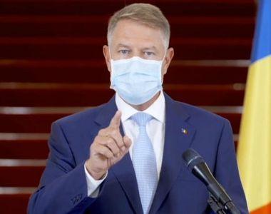 Klaus Iohannis, anunț despre carantinarea Bucureștiului. Ce se va întâmpla de mâine