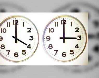 Ora de iarnă 2020: Când se schimbă ora în România şi cum trebuie potrivite ceasurile?