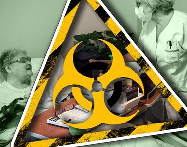 VIDEO - Bătrânii, vulnerabili la COVID. Cazuri multe