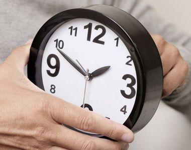 Schimbarea orei 2020. Cum se modifică ceasurile în această noapte