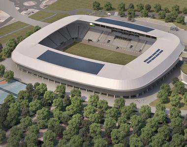 Ce oraș din România va avea un stadion în valoare de 45 de milioane de euro și sală...