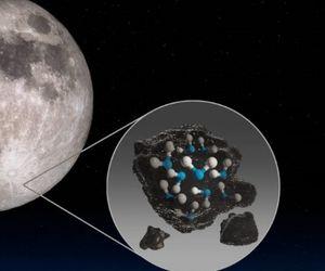 apa pe Luna NASA
