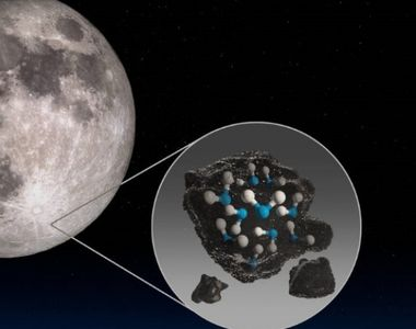 Descoperire incredibilă: NASA a declarat că există apă pe Lună