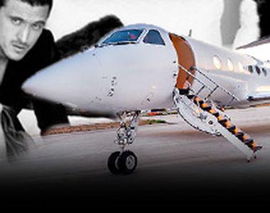 VIDEO - Milionarul condamnat Săvulescu, avioane private în Italia