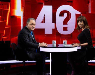 """Marian Vanghelie a vorbit la """"40 de întrebări cu Denise Rifai"""" despre motivul..."""