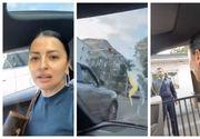 Conflict în trafic: un bărbat a aruncat cu ouă într-o maşină condusă de o femeie. Ce a urmat (VIDEO)