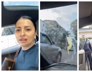 Conflict în trafic: un bărbat a aruncat cu ouă într-o maşină condusă de o femeie. Ce a...