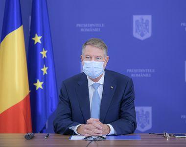 """Klaus Iohannis: """"Ne aflăm într-un veritabil val doi al pandemiei"""""""