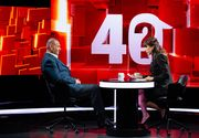 "Viorel Catarama, urmatorul invitat la ""40 de intrebari cu Denise Rifai"""