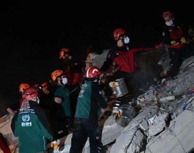 VIDEO - Cutremur în Marea Egee: Cel puţin 26 de morţi şi peste 800 de răniţi în Turcia...