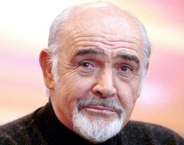 Celebrul actor Sean Connery a murit la 90 de ani