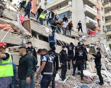 """VIDEO - Dezastru și durere după cutremurul din Turcia: """"Nu am crezut că mai ieșim..."""