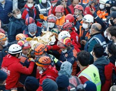 Bilanţul total al victimelor cutremurului la Marea Egee creşte la 81 de morţi, dintre...