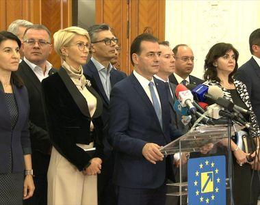 """Primul caz de coronavirus în Guvernul Orban. """"Nu am simptome grave, pentru..."""