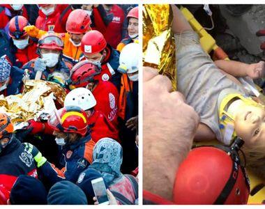 Intervenție specială la Izmir. O fetiță a fost salvată după ce a stat aproape 3 zile...