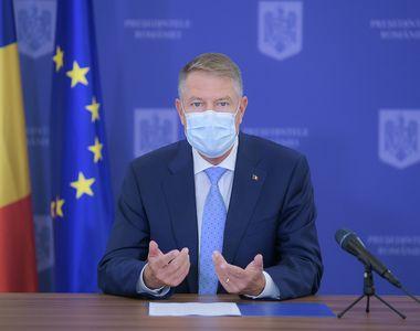 Klaus Iohannis, ședință de urgență la Palatul Cotroceni cu Rafila, Nelu Tătaru și Raed...