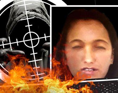 VIDEO - Portret robot al tinerei ucise și incendiate. Criminal liber