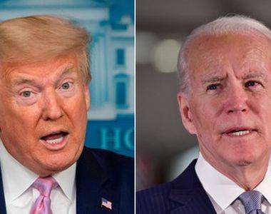 """Alegeri SUA 2020. Trump îl acuză pe Biden că încearcă să """"fure"""" alegerile în timp ce..."""