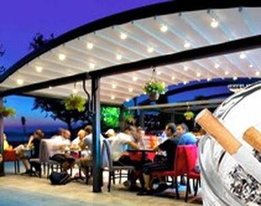 VIDEO - Reguli pentru fumat la terase, rar aplicate