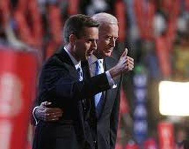 Ce s-a întâmplat, de fapt, cu Beau Biden, fiul mult iubit al noului preşedinte american...