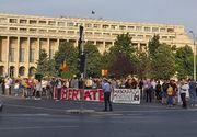 Protest în Piaţa Victoriei faţă de restricţiile pentru prevenirea răspândirii COVID-19