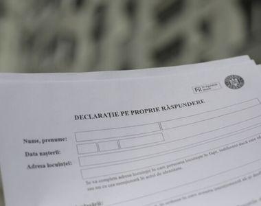 Noi detalii despre declaraţia pe propria răspundere şi adeverinţa dată de angajator. Ce...