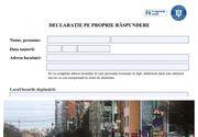 Noua declarație de proprie răspundere. Descarcă online formatul PDF pe telefon