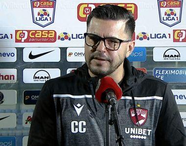 Dinamo se află pe marginea prăpastiei. Cosmin Contra a vorbit despre demisia sa după...