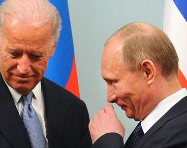 Legătura dintre Vladimir Putin și Joe Biden. Ce reacție a avut președintele Rusiei după...