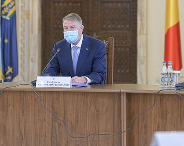 """Klaus Iohannis, anunț despre un """"lockdown"""" în România. """"Nu iau în calcul..."""